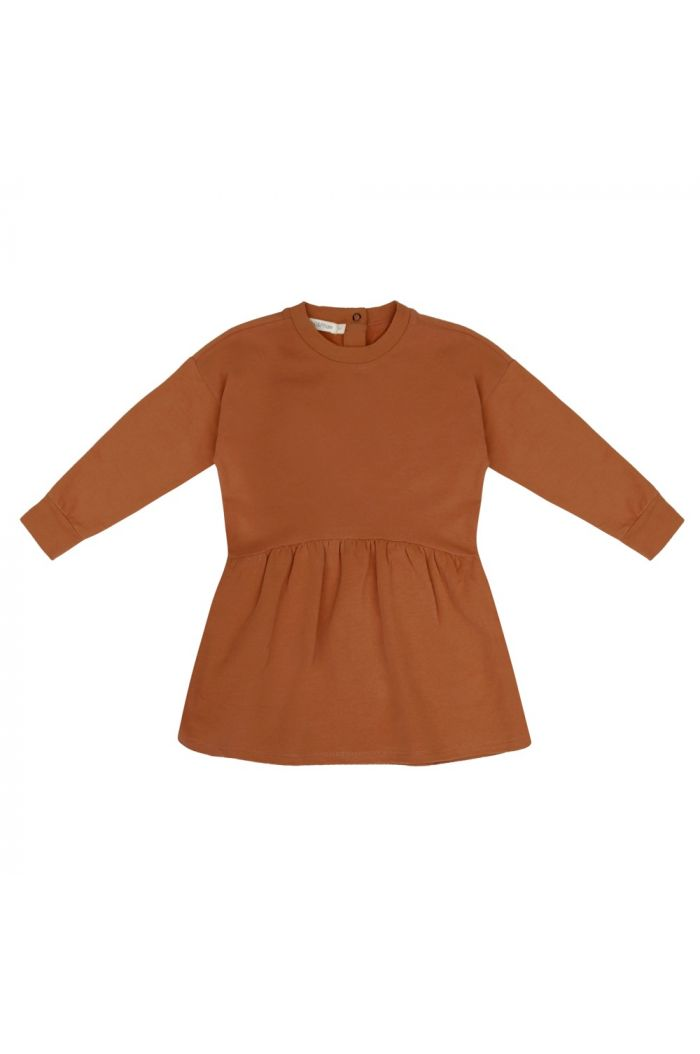Phil&Phae Oversized dress Gingerbread_1