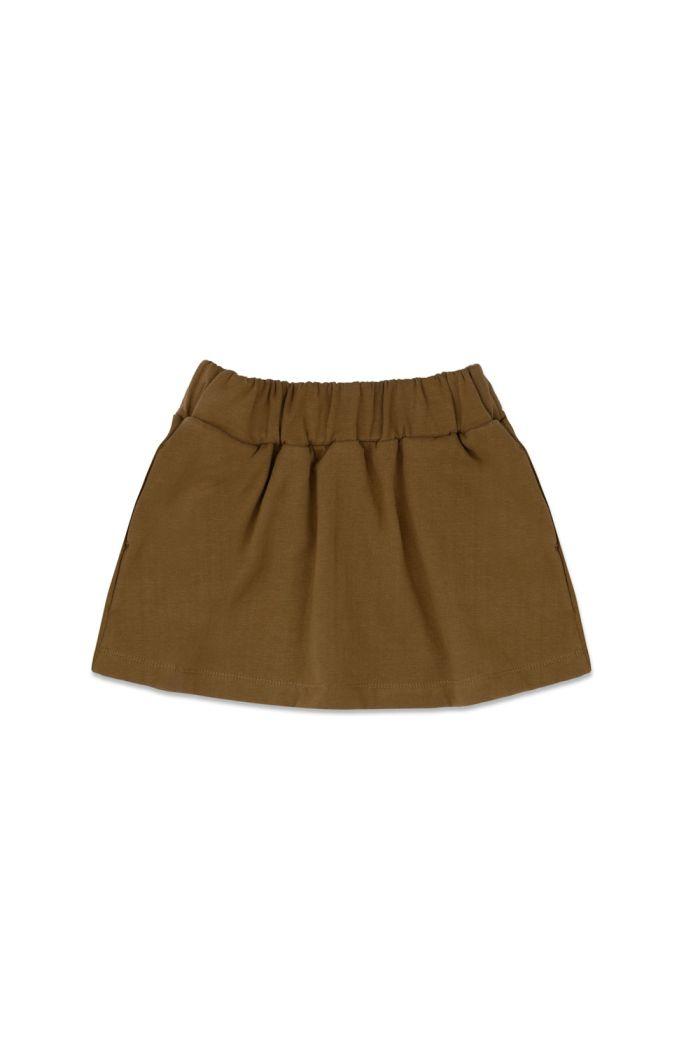 Phil&Phae Classic skirt Bronze Olive_1