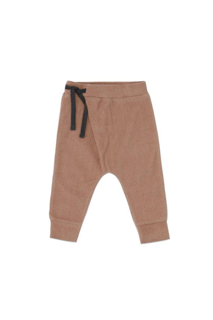 Phil&Phae Teddy baby harem pants Creamy Mocha_1