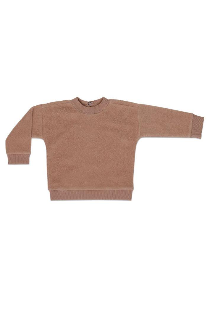 Phil&Phae Teddy baby sweater Creamy Mocha_1