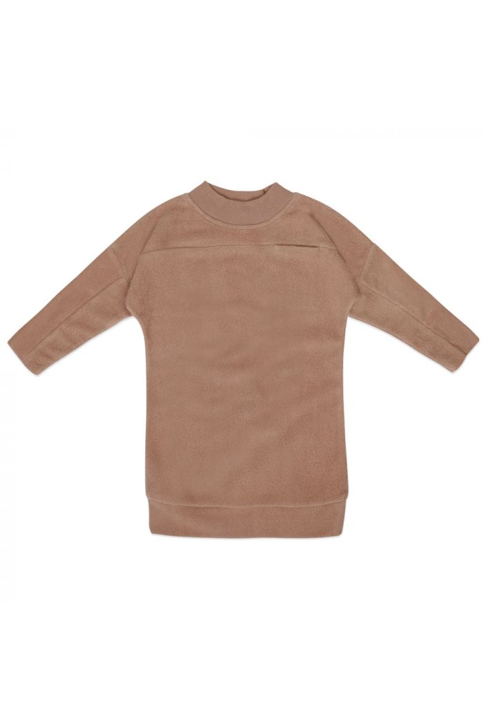 Phil&Phae Teddy sweater dress Creamy Mocha_1