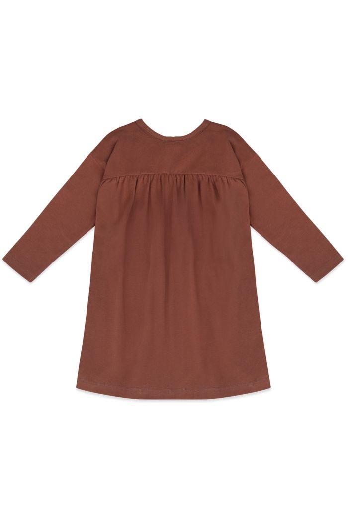 Phil&Phae Two-way dress longsleeve Chocolate Mauve_1