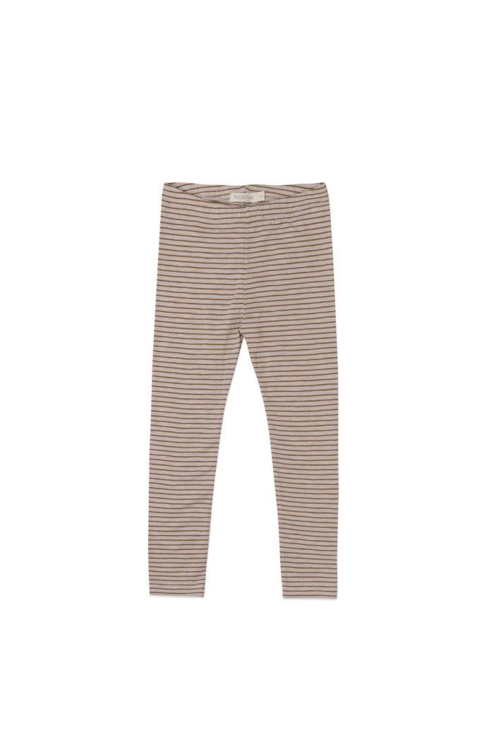 Phil&Phae Leggings stripes Chestnut_1