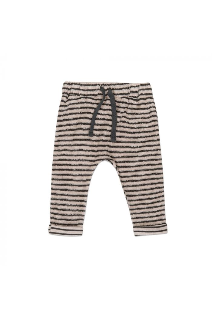 Phil&Phae Baby pants loopy stripes Graphite