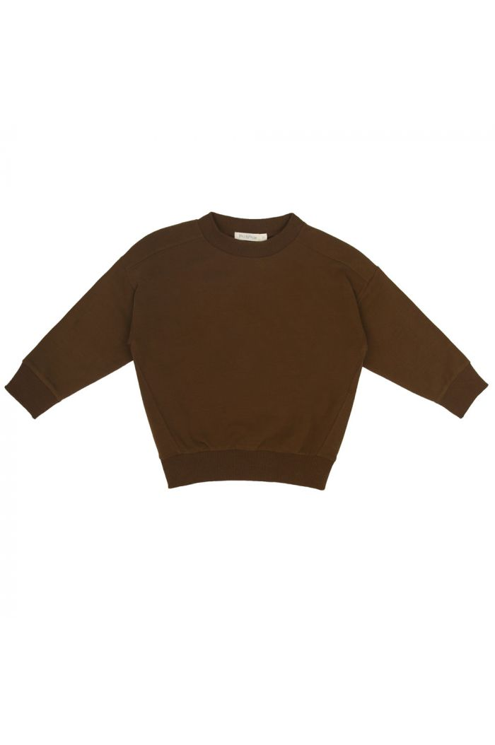 Phil&Phae Oversized sweater moss_1