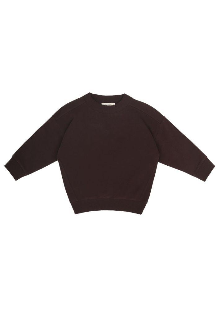 Phil&Phae Oversized sweater cacao nib_1