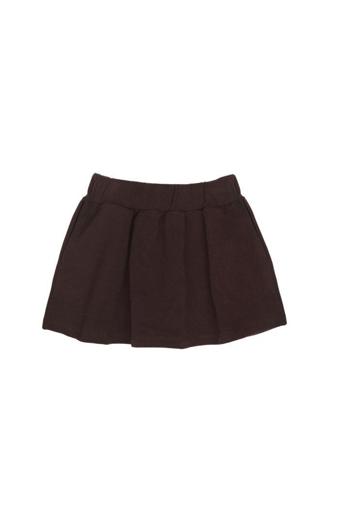 Phil&Phae Classic skirt cacao nib_1