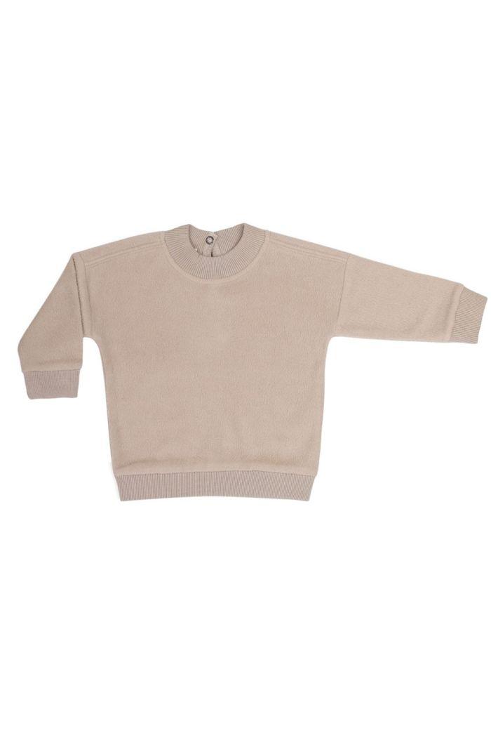 Phil&Phae Teddy baby sweater straw_1
