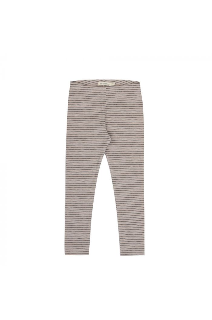 Phil&Phae Leggings stripes straw_1