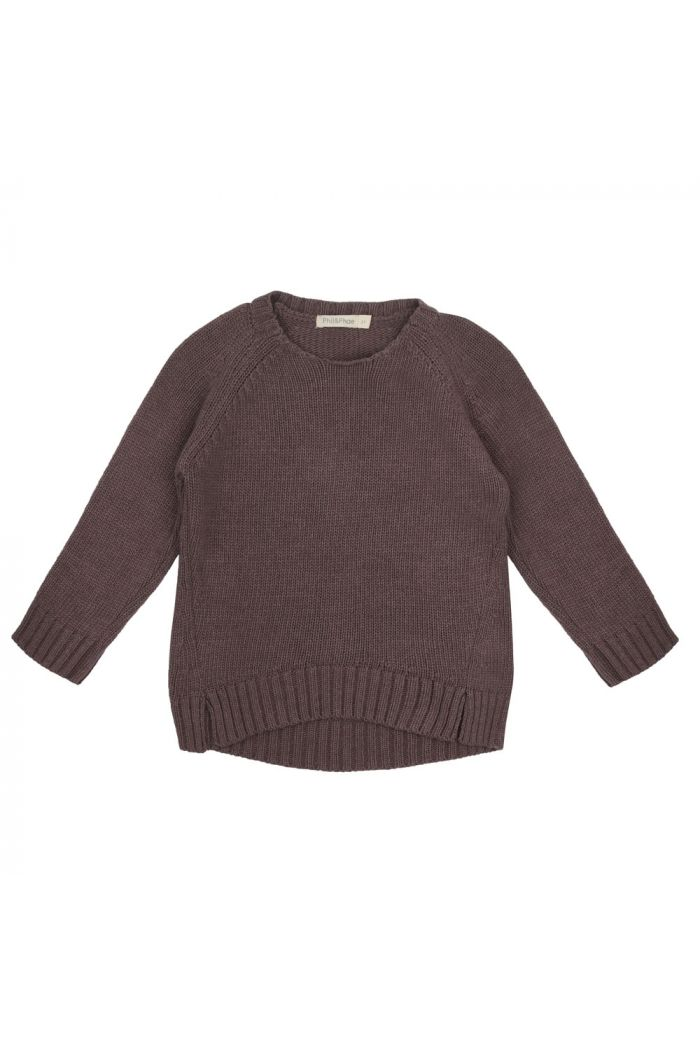 Phil&Phae Cashmere-blend knit sweater dried lavender_1