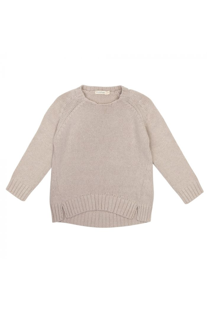 Phil&Phae Cashmere-blend knit sweater straw_1