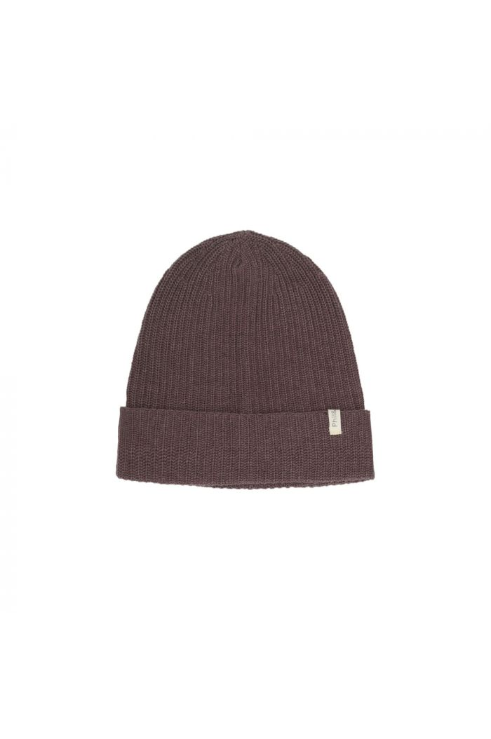 Phil&Phae Cashmere-blend knit beanie dried lavender_1