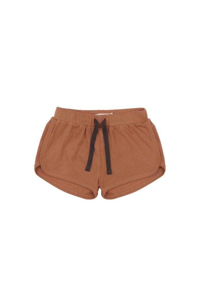 Phil&Phae Rib shorts terra_1