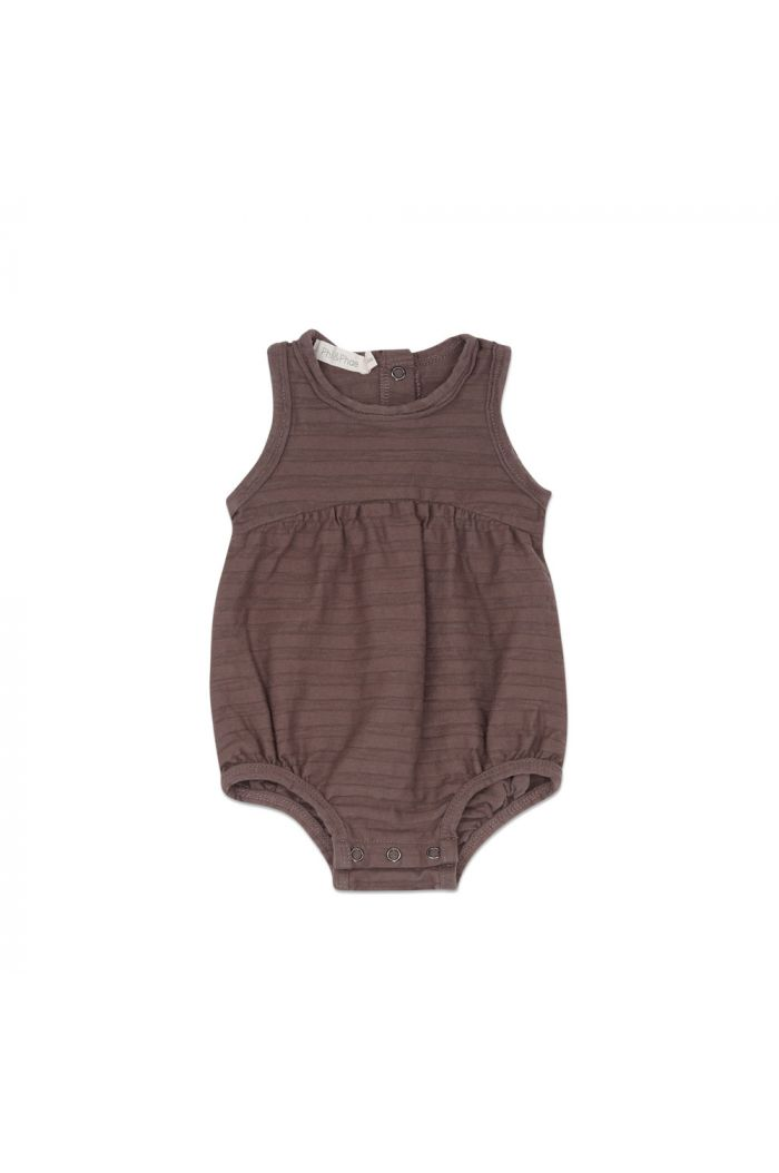 Phil&Phae Bubble onesie tonal stripe heather_1