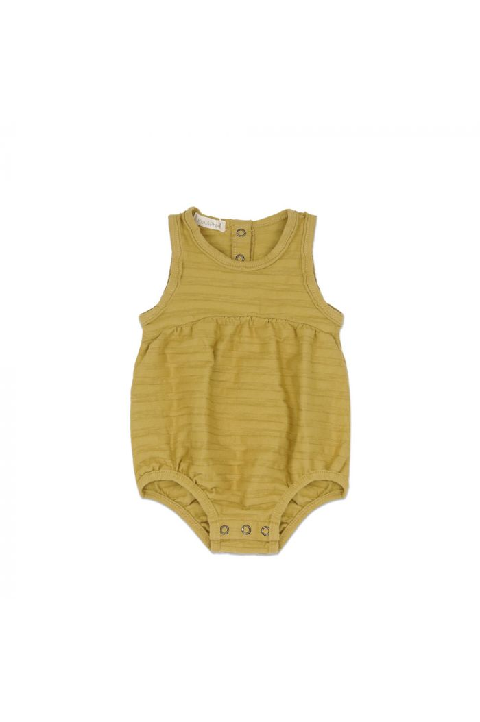 Phil&Phae Bubble onesie tonal stripe avocado_1