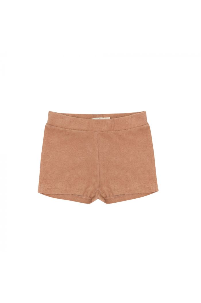 Phil&Phae Frotté shorts warm biscuit_1