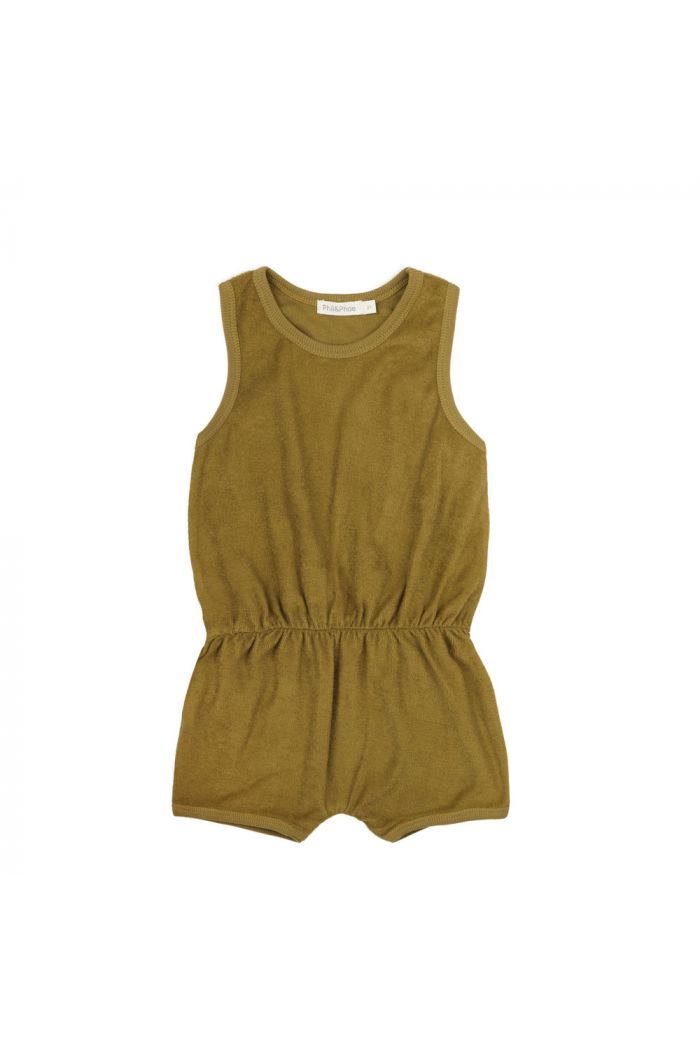 Phil&Phae Frotté playsuit pear_1