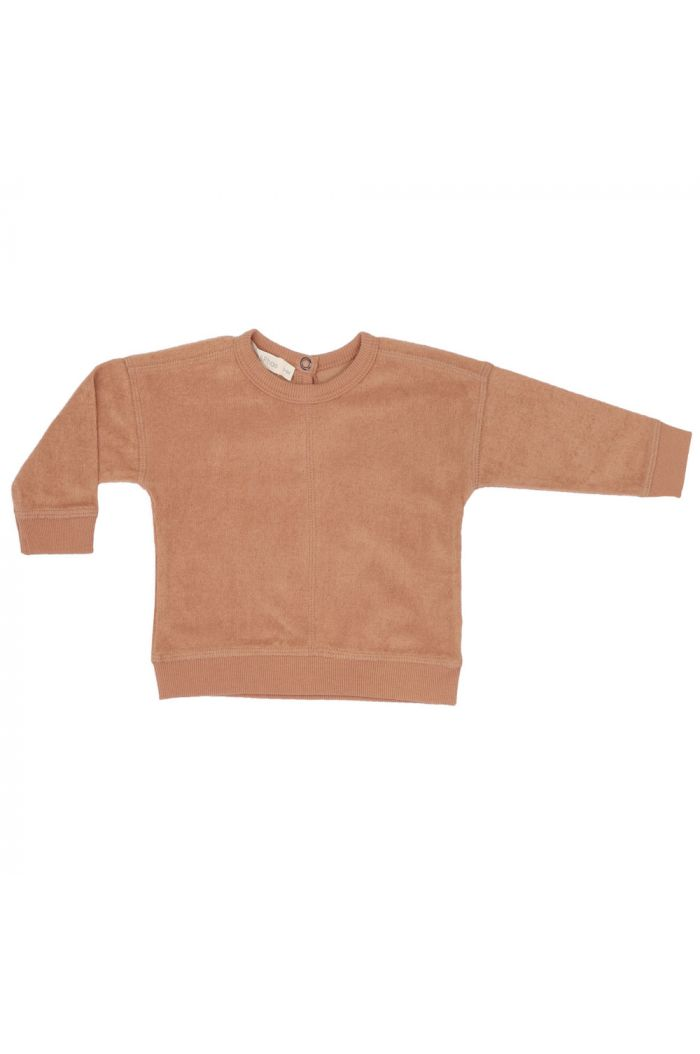 Phil&Phae Frotté baby sweater warm biscuit_1