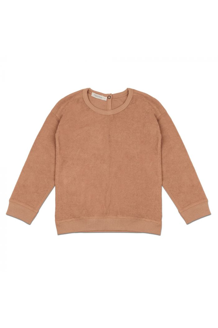 Phil&Phae Frotté sweater warm biscuit_1