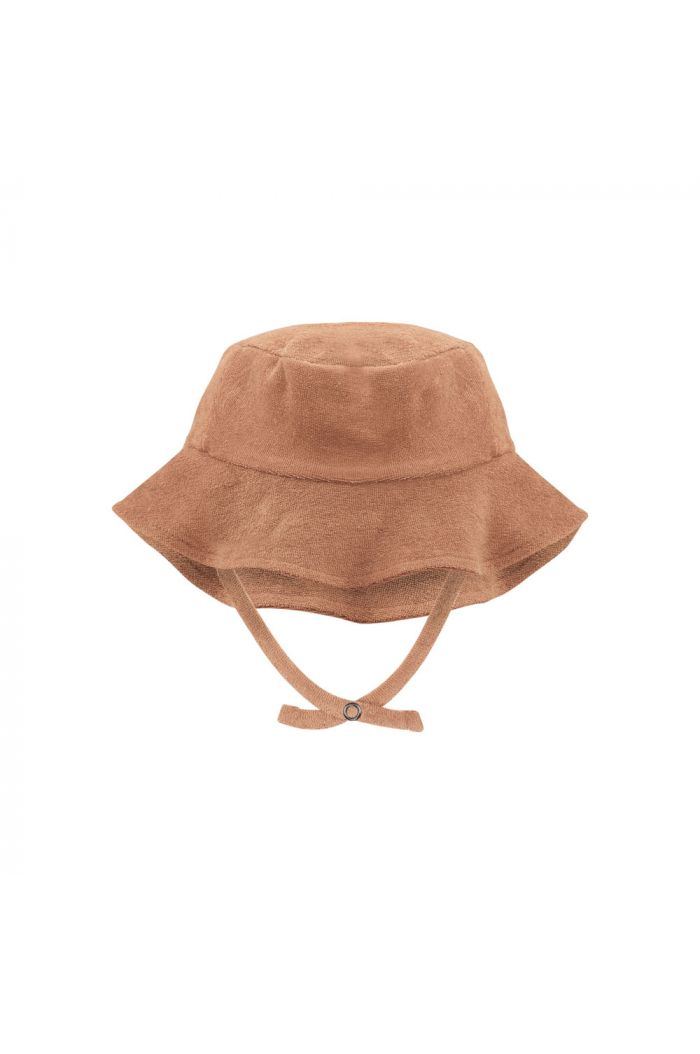 Phil&Phae Frotté sun hat warm biscuit_1