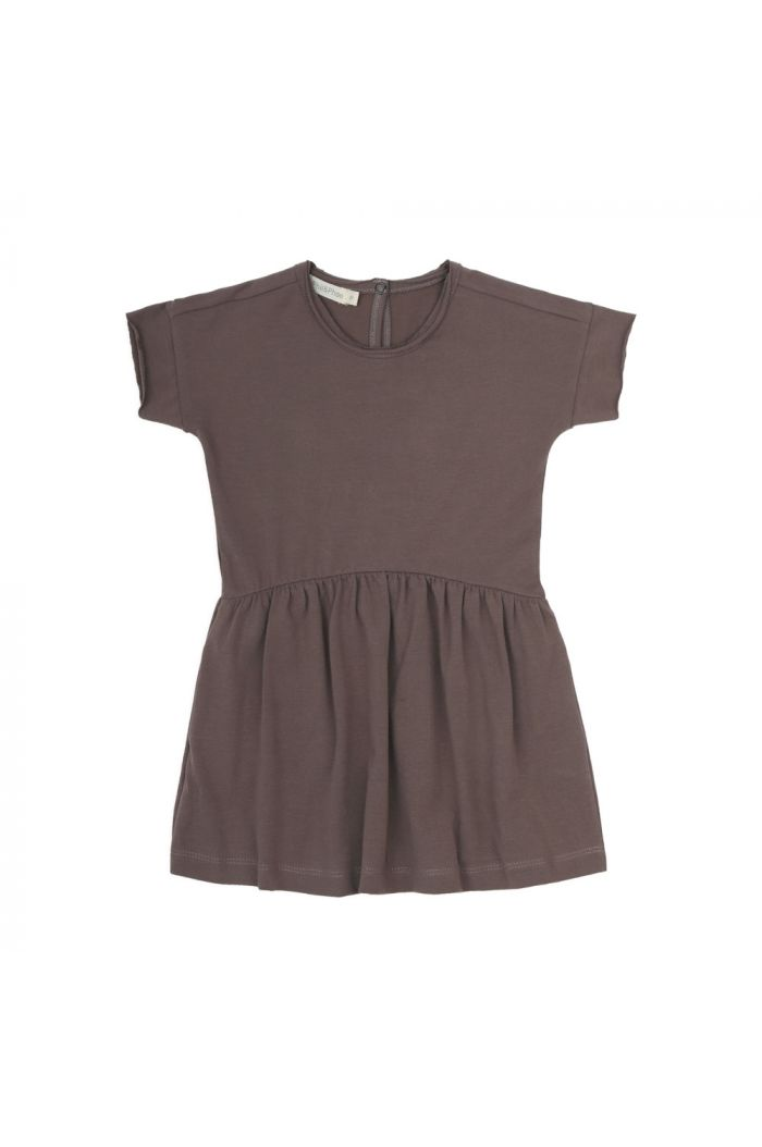 Phil&Phae Oversized jersey dress shortsleeve heather_1