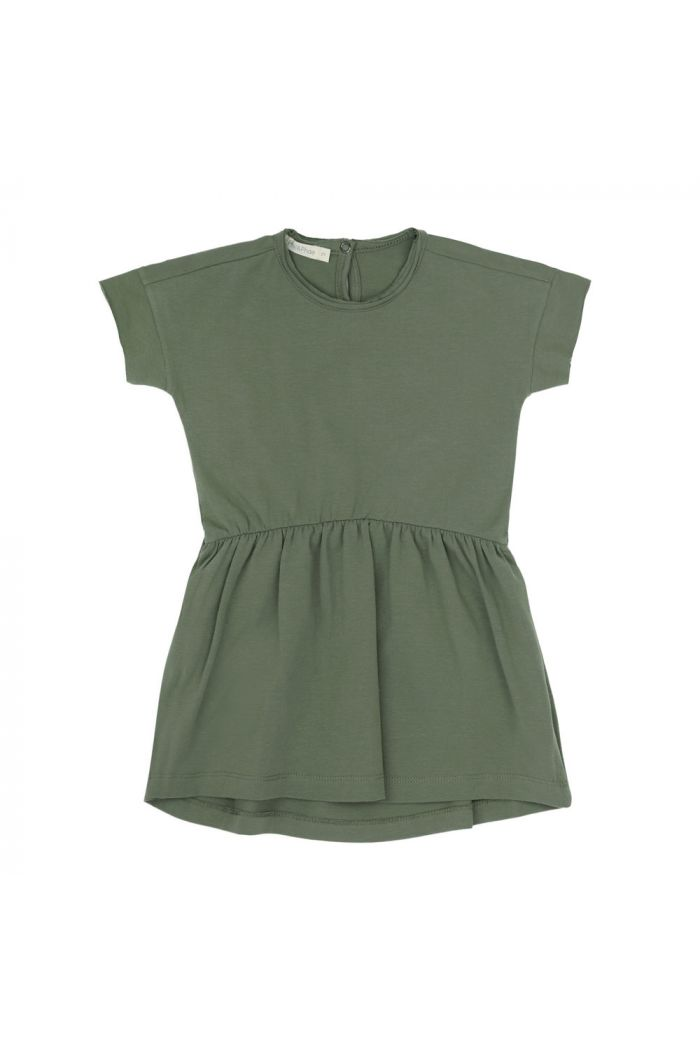 Phil&Phae Oversized jersey dress shortsleeve Sage_1