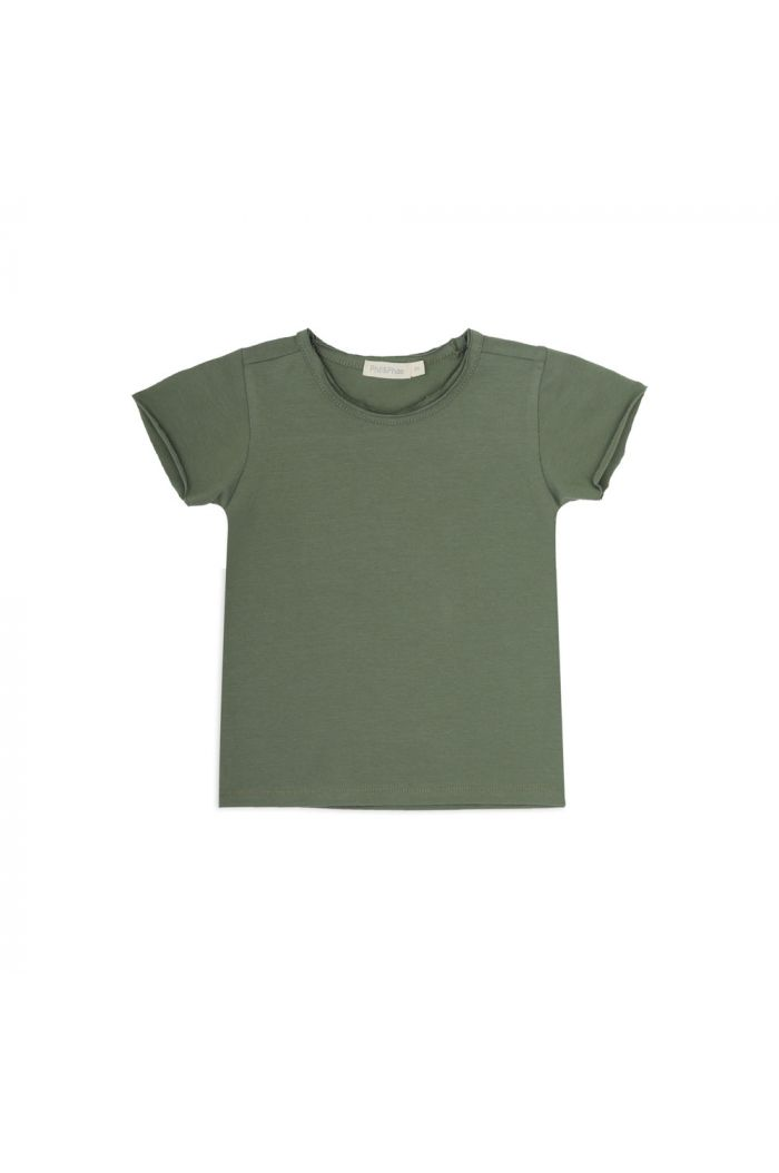 Phil&Phae Summer tee shortsleeve Sage_1