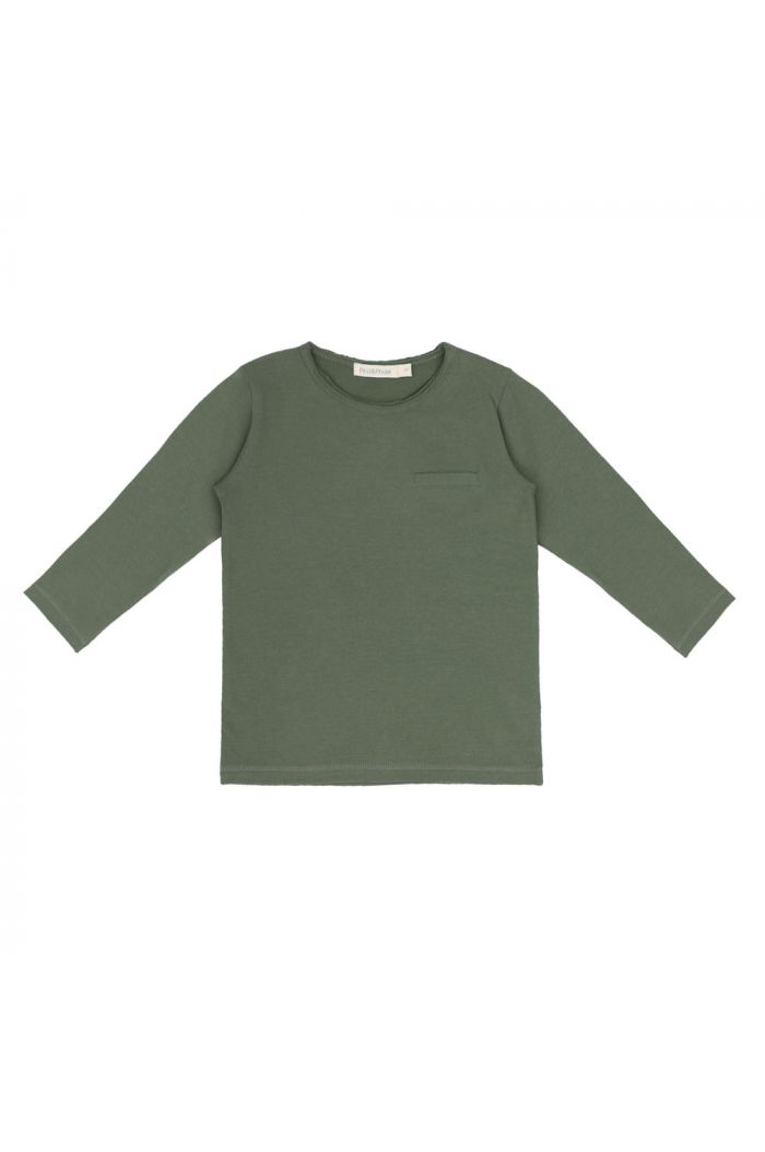 Phil&Phae Pocket tee Sage_1