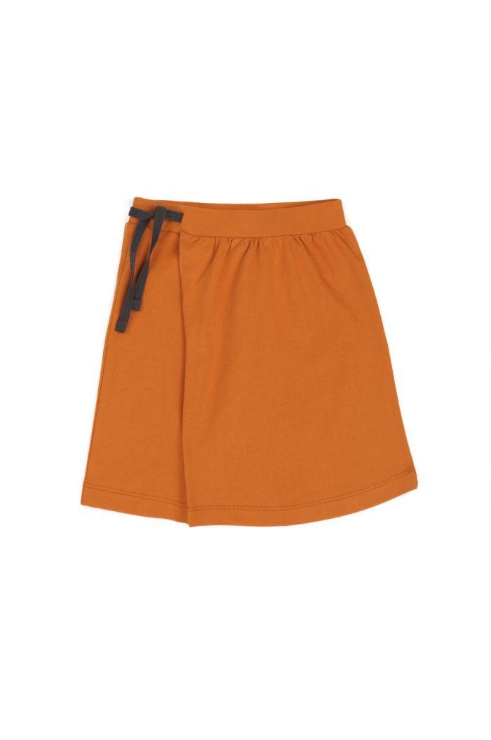 Phil&Phae Midi skirt tangerine
