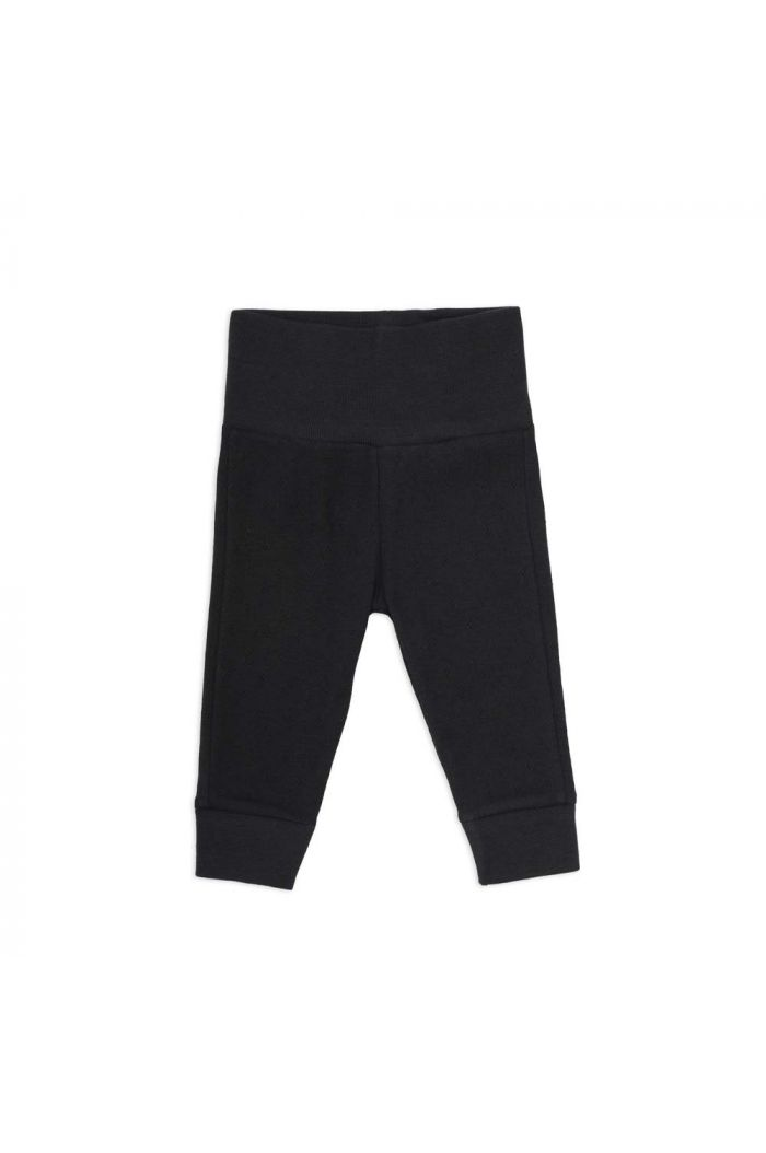 Phil&Phae Newborn leggings pointelle Charcoal