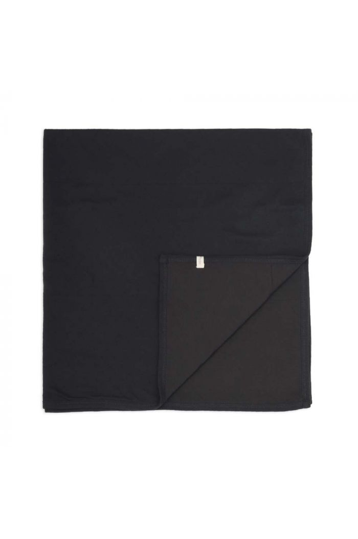 Phil&Phae Baby blanket pointelle Charcoal_1