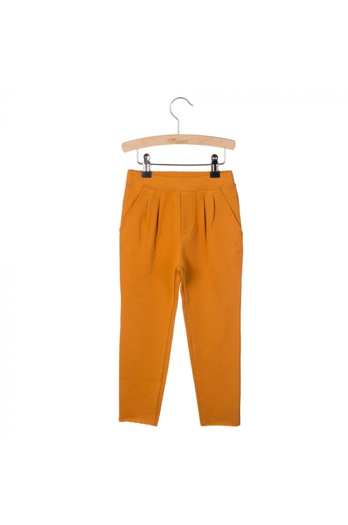 Little Hedonist Pleated Trousers Kobus Pumpkin Spice