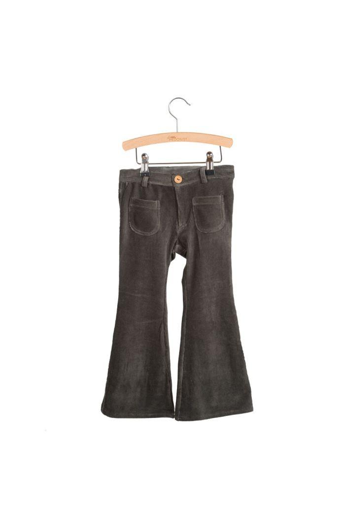 Little Hedonist 4 Pocket Flared Pants Bay Pirate Black_1