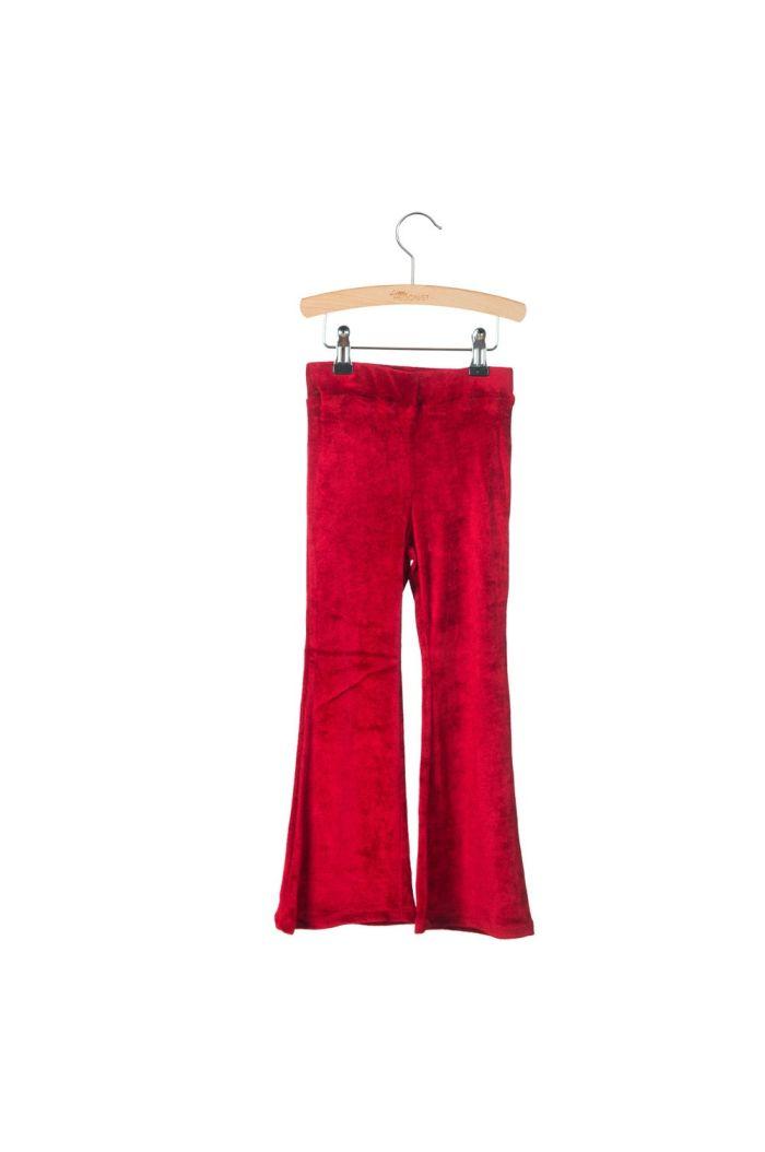 Little Hedonist Flared Legging Monroe Tango Red_1