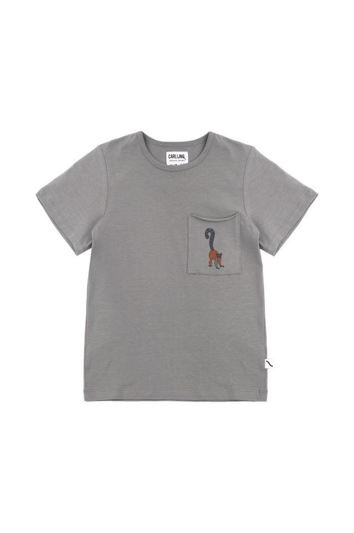 CarlijnQ t-shirt + embroidery Maki