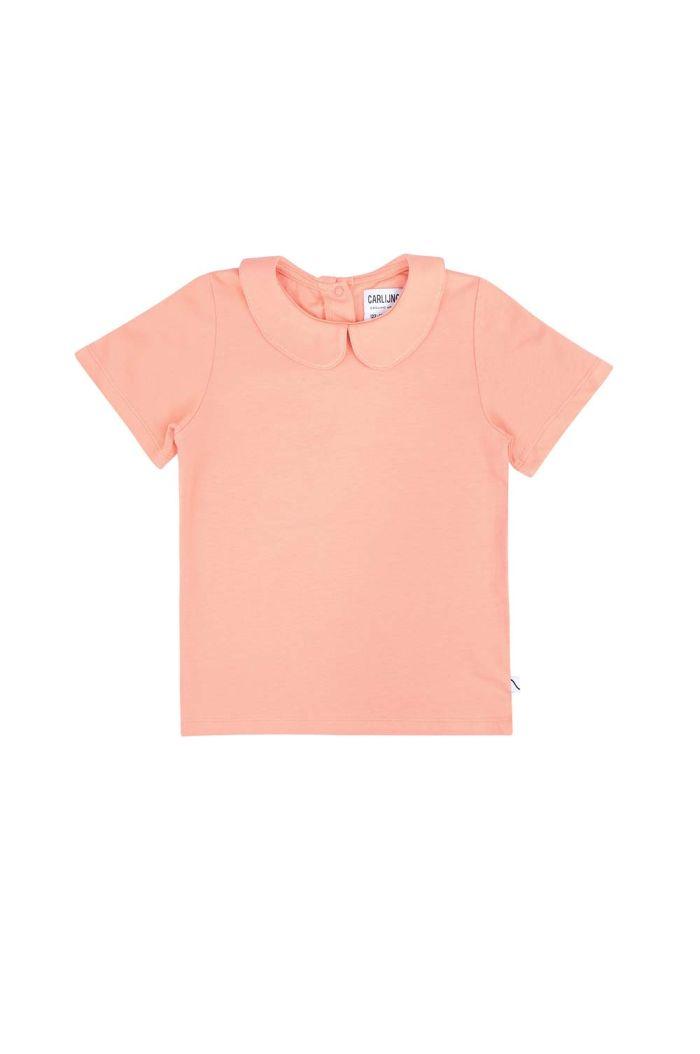 CarlijnQ Basics - t-shirt collar Pink