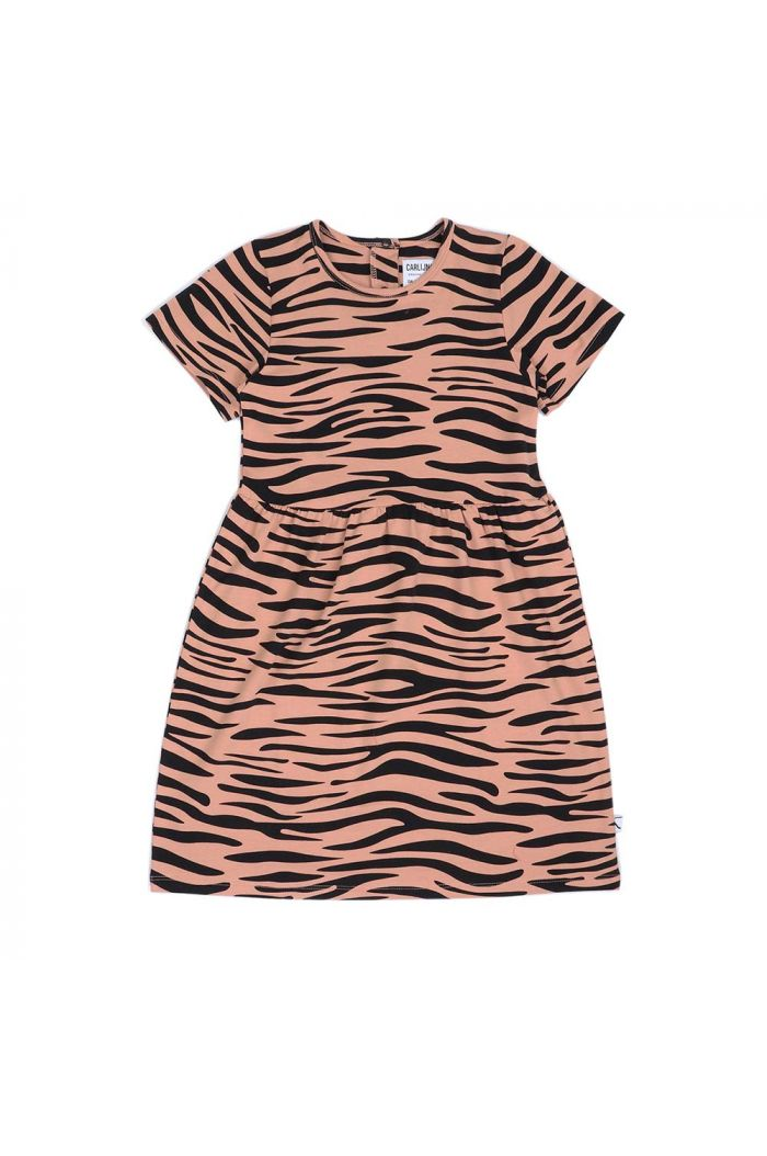 CarlijnQ dress shortsleeve Tiger