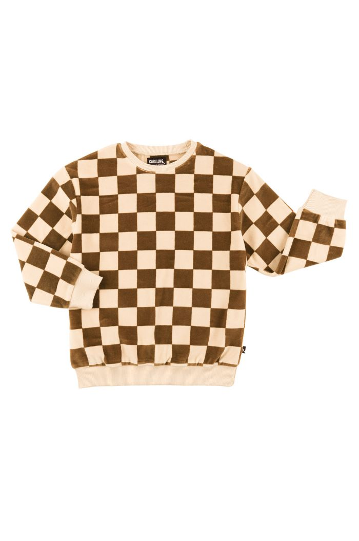 CarlijnQ Sweater checkers_1
