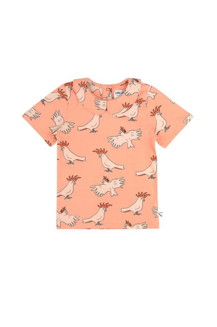 CarlijnQ t-shirt collar Parrot