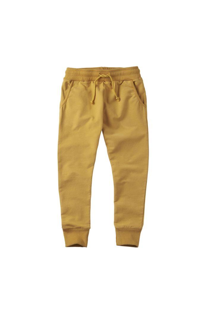 Mingo Slim Fit Jogger Sweat Spruce Yellow
