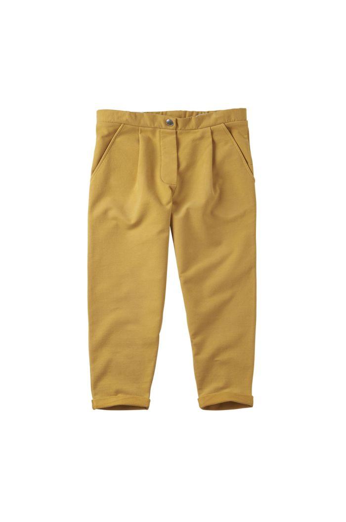 Mingo Cropped Chino Sweat Spruce Yellow