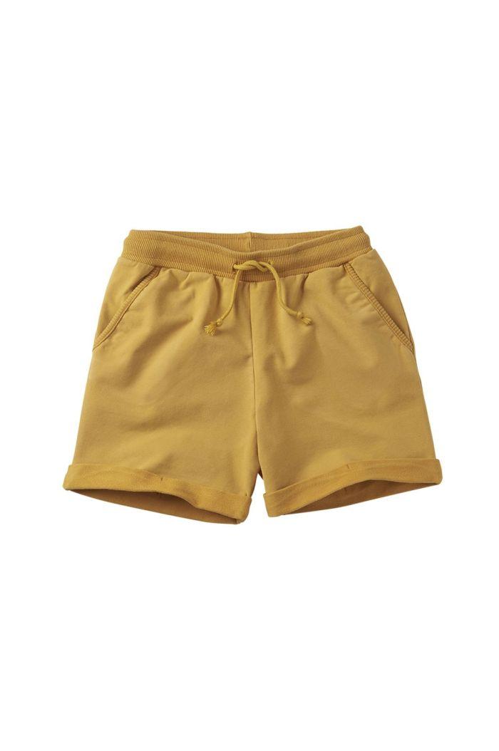 Mingo Short Sweat Spruce Yellow