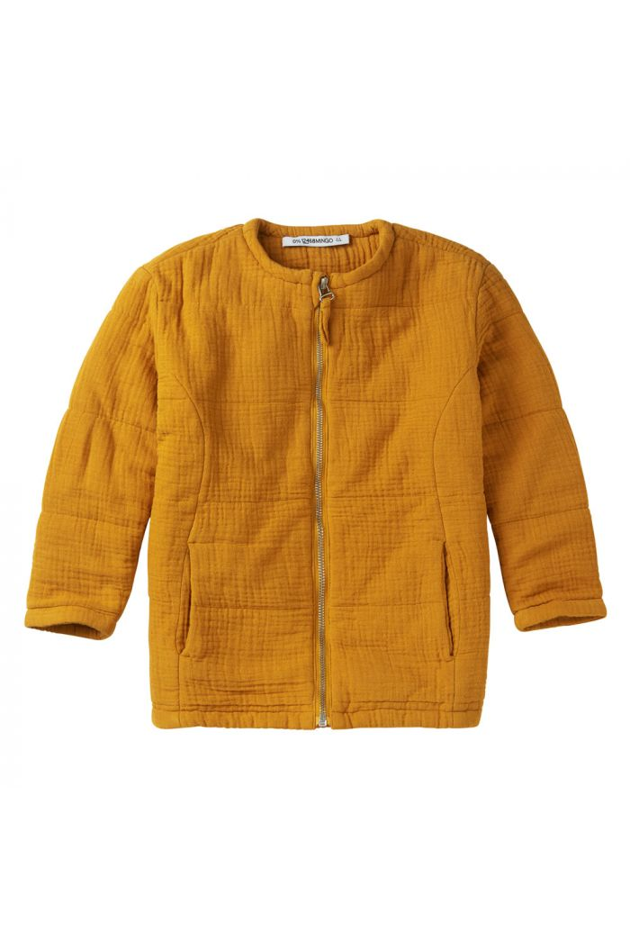 Mingo Jacket Mouslin Spruce Yellow