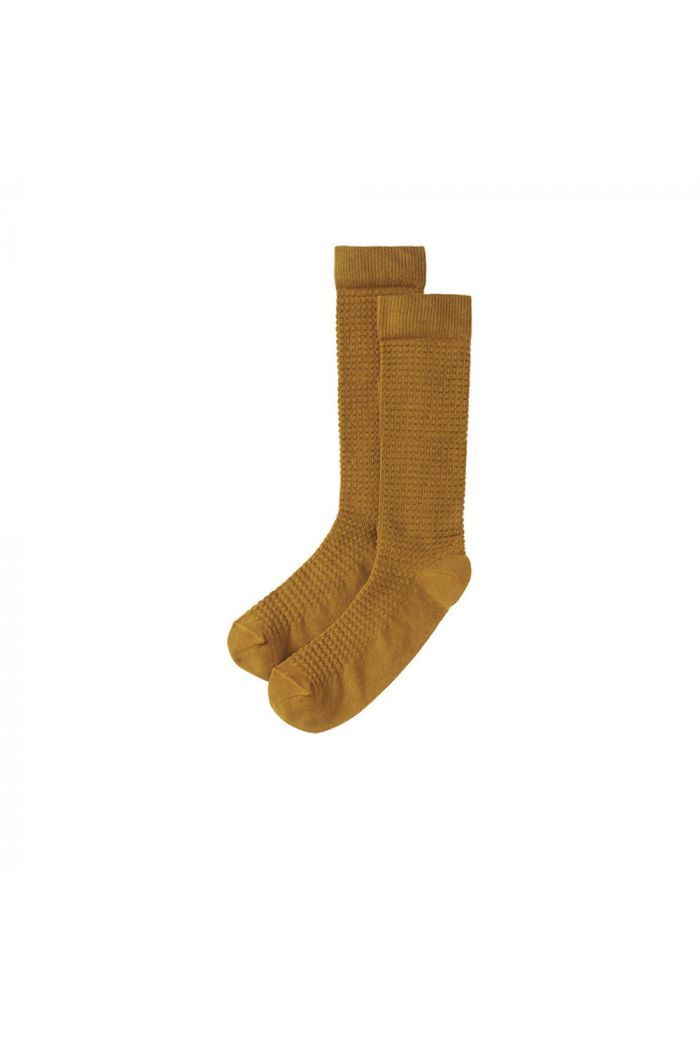 Mingo Knee Socks Spruce Yellow