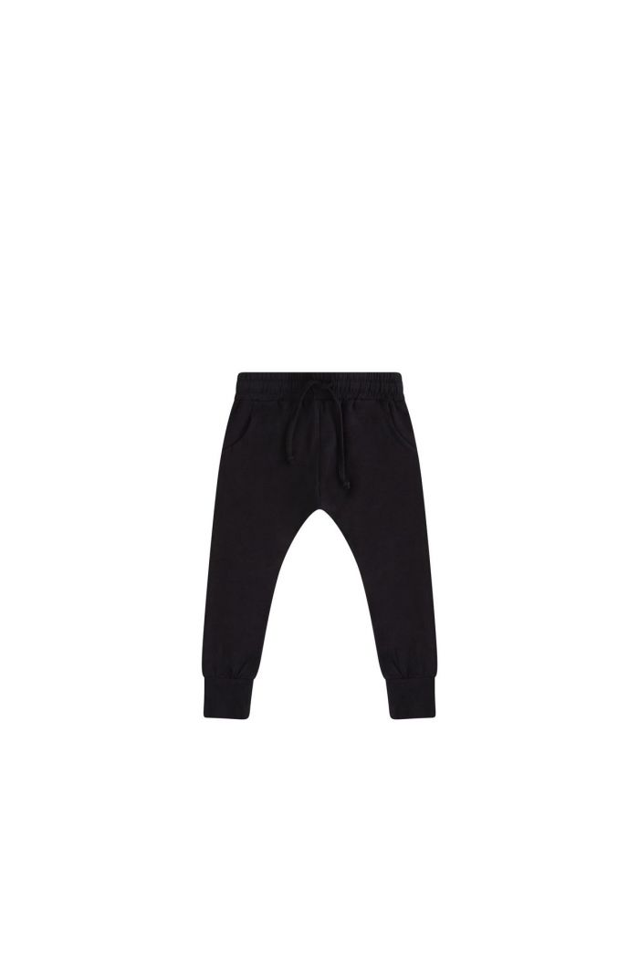 Mingo Slim Fit Jogger Black_1