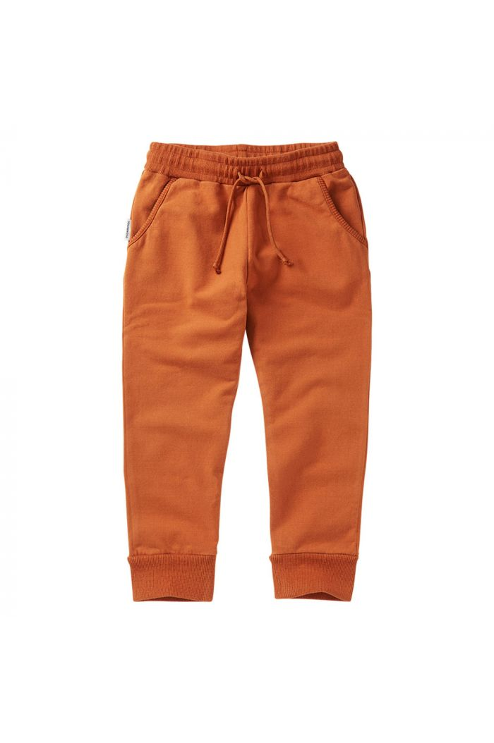 Mingo Slim Fit Jogger Dark Ginger_1