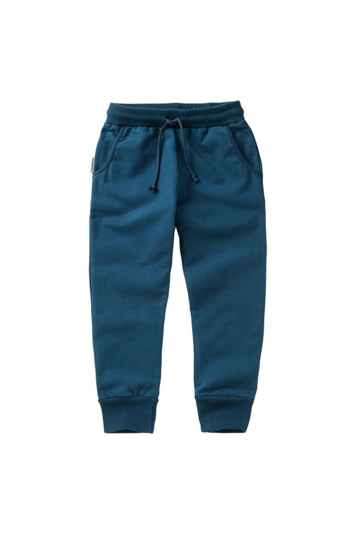 Mingo Slim Fit Jogger Teal Blue_1