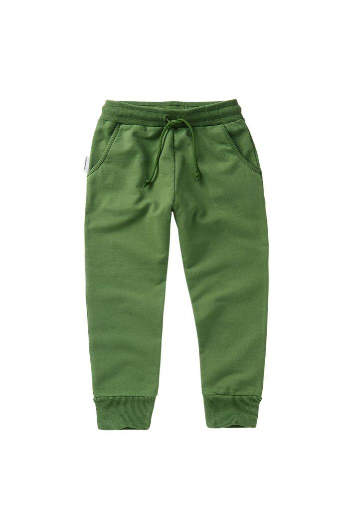 Mingo Slim Fit Jogger Moss Green_1