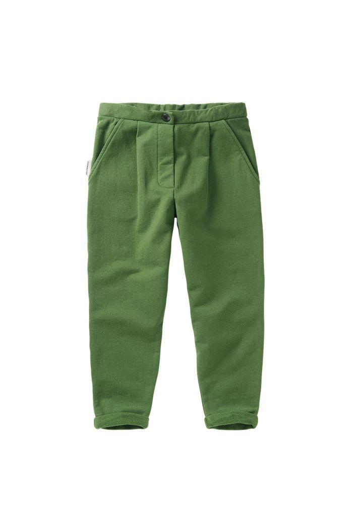 Mingo Cropped Chino Moss Green_1