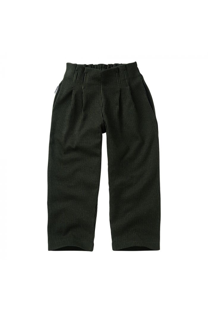 Mingo Jaquard Trouser Forest Night_1
